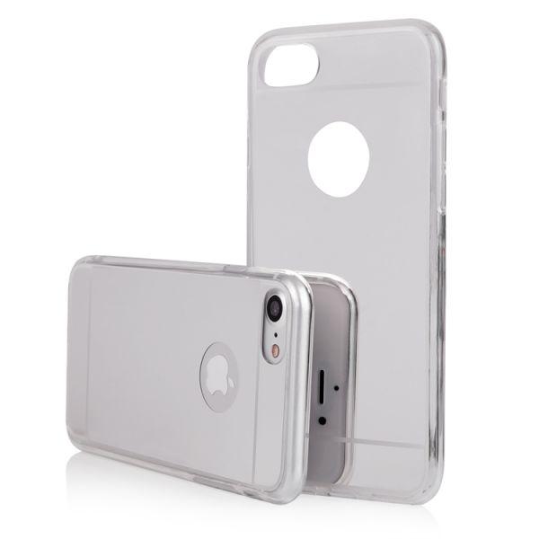 """BACK CASE """"MIRROR"""" für iPhone 7/8 Plus silber"""